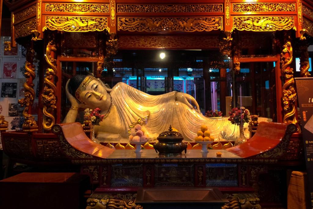 The Jade Buddha in Shanghai China