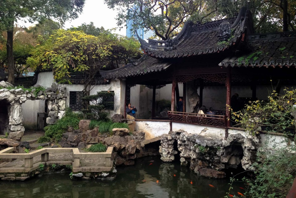 Yu yuan garden in Shanghai China