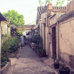 Through a Beijing Hutong