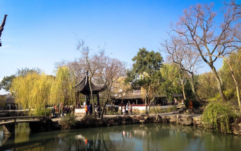 The Humble administrators garden in Suzhou China