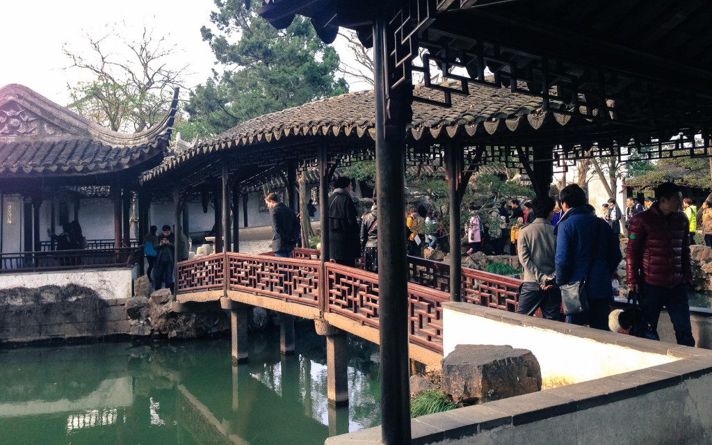 Inside the Humble administrators garden in Suzhou