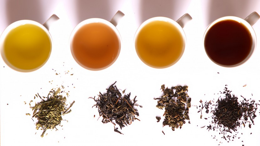 Different types of Chinese tea