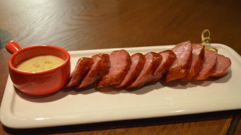 Harbin Sausage with mustard