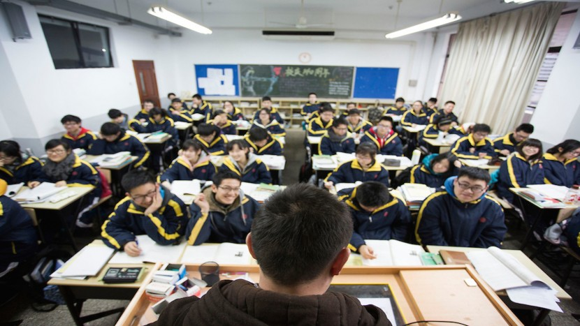 teaching in China at Shanghai Gezhi high school