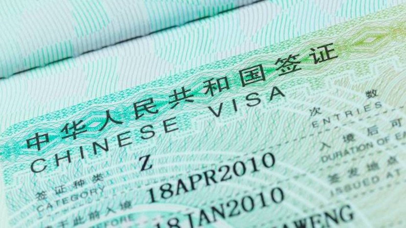 china visa for working in china