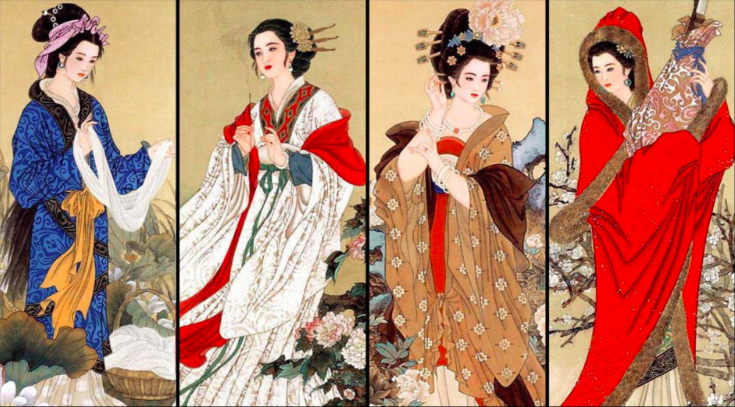 Historic women of Chinese beauty standards