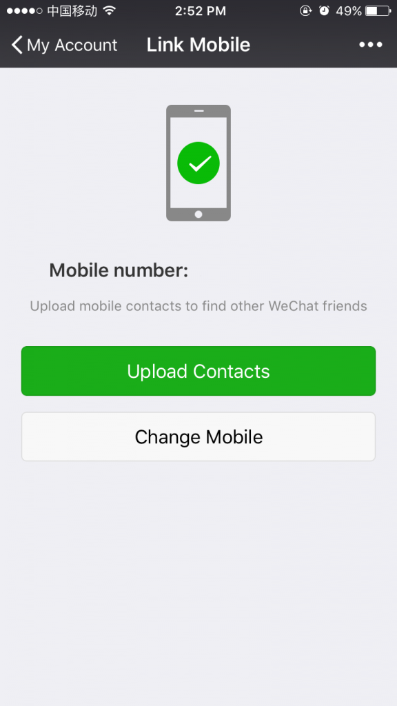 WeChat Wallet Set Up: Link Mobile